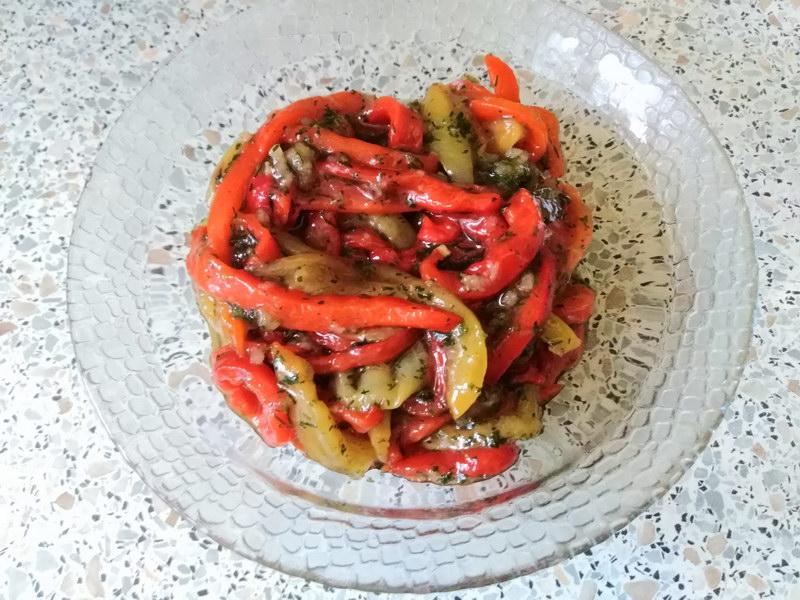 Закуска из перцев