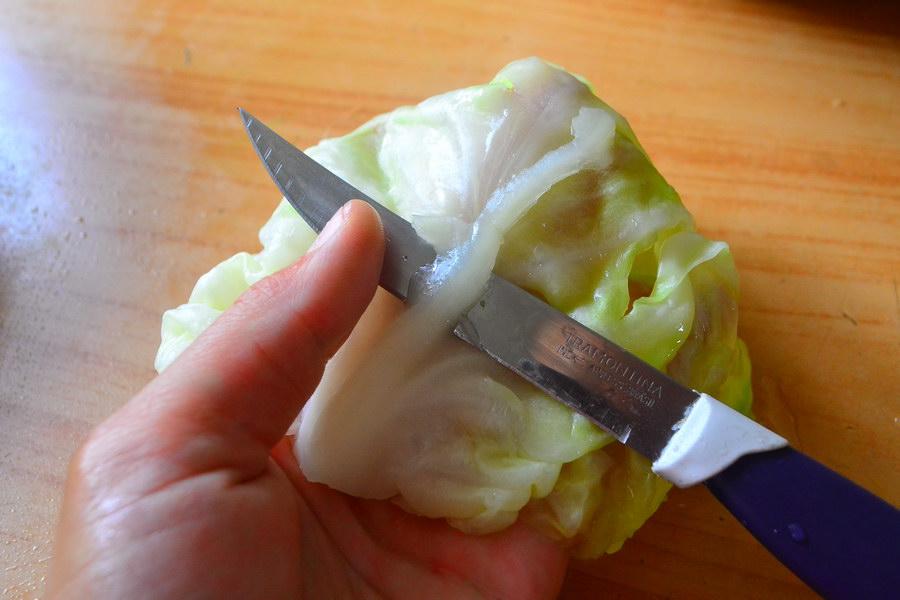Срезать у каждого листика плодоножку