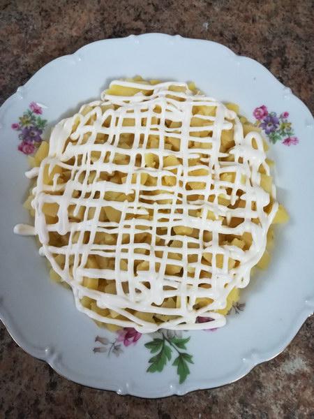 1ый слой картофель