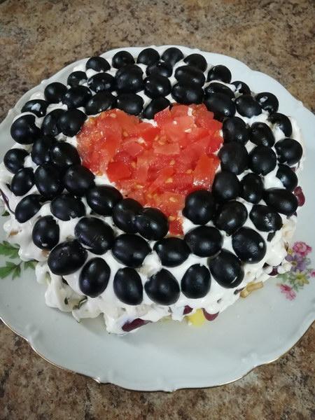 Салат «Коварство и Любовь»
