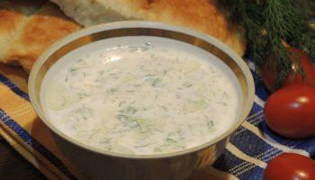 Рецепт соуса «Дзадзики» — вкус мяса заиграет но-новому