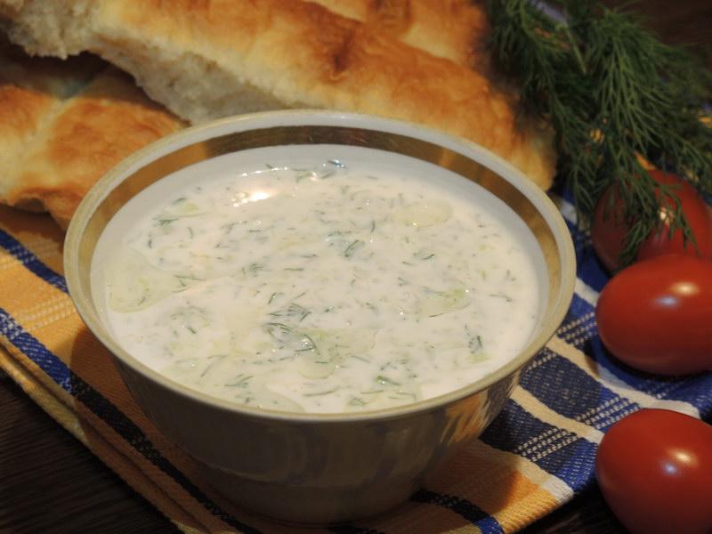 Свежий и аппетитный соус «Дзадзики»