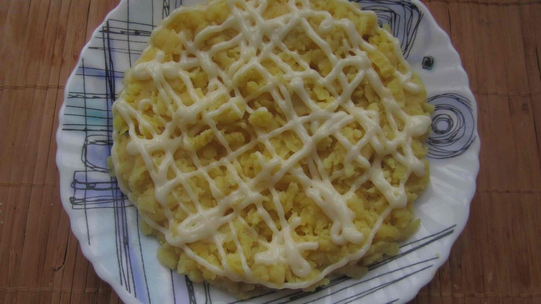 Картофель 1ый слой