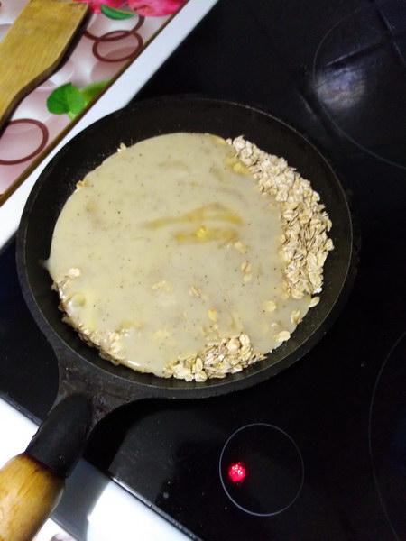 Залить яйцом