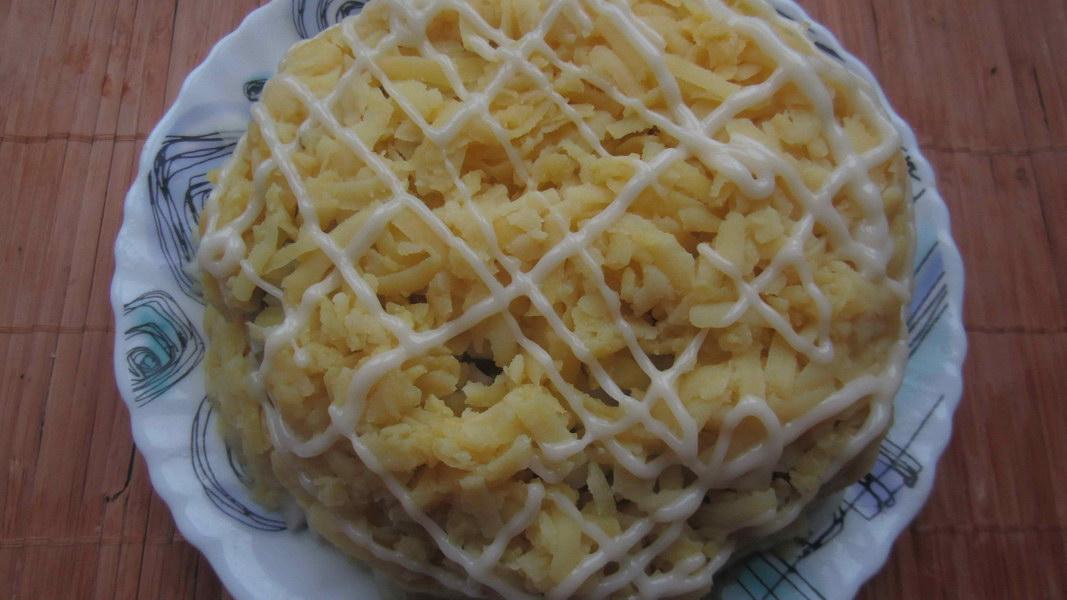 Остаток картофеля