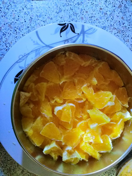 Слой апельсина