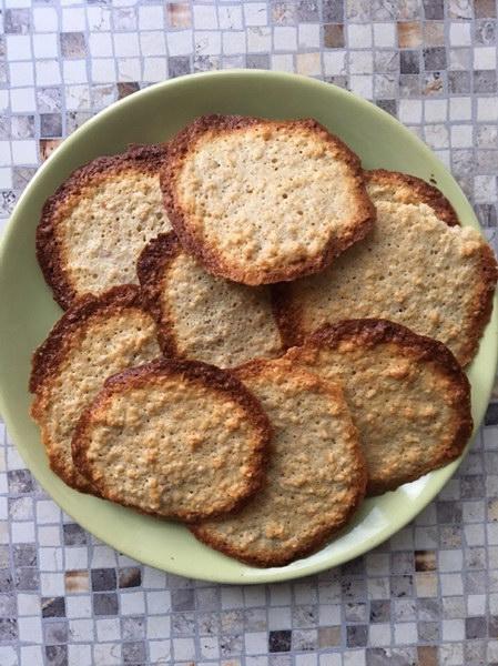 Домашнее овсяное печенье с корицей