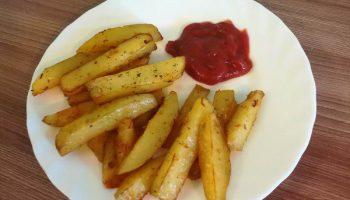 Готовлю картошку «по-деревенски» в духовке. Вкусно и не вредно