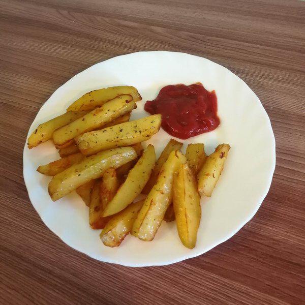 Готовлю картошку по-деревенски в духовке, вкусно и не вредно