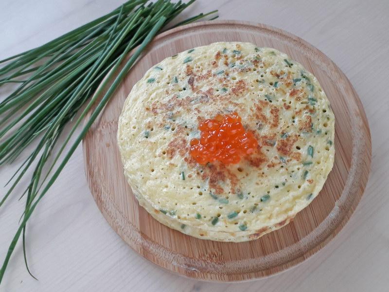Ароматная и сочная сырная лепёшка на сковороде – пп рецепт