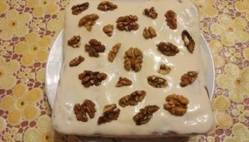 Медовый торт «Наслаждение» рецепт с фото по шагам