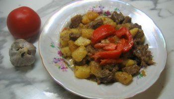 Рецепт Оджахури. Грузинское мясное второе блюдо для всей семьи