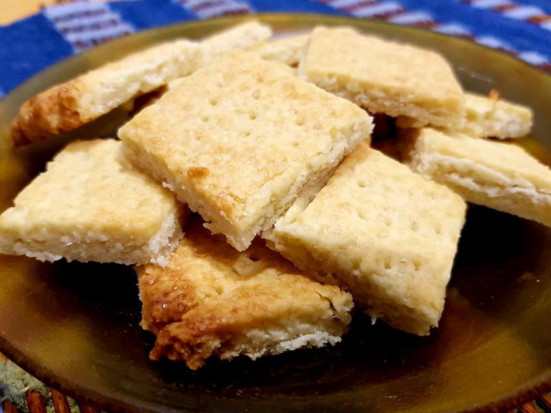 Шортбред – изумительное шотландское печенье, нежное и ароматное