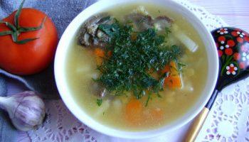 Как правильно варить гороховый суп с говядиной, всё дело в бульоне