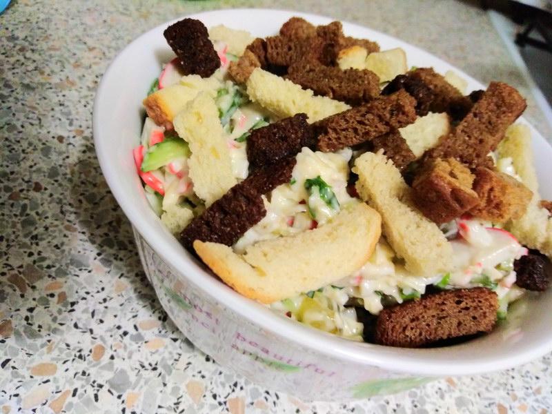 Салат за 20 минут «Студнабор» - простой рецепт из доступных продуктов