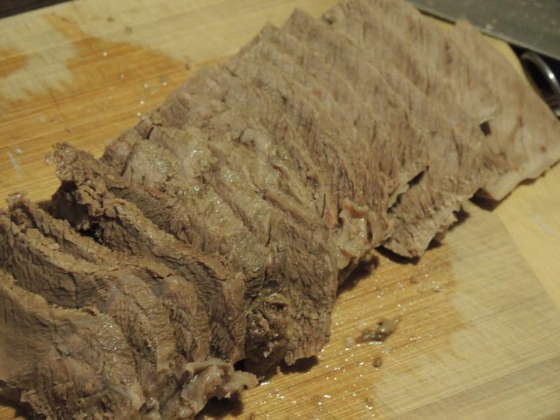 Рецепт «Тунцовой говядины» - мясо и рыба в одном блюде