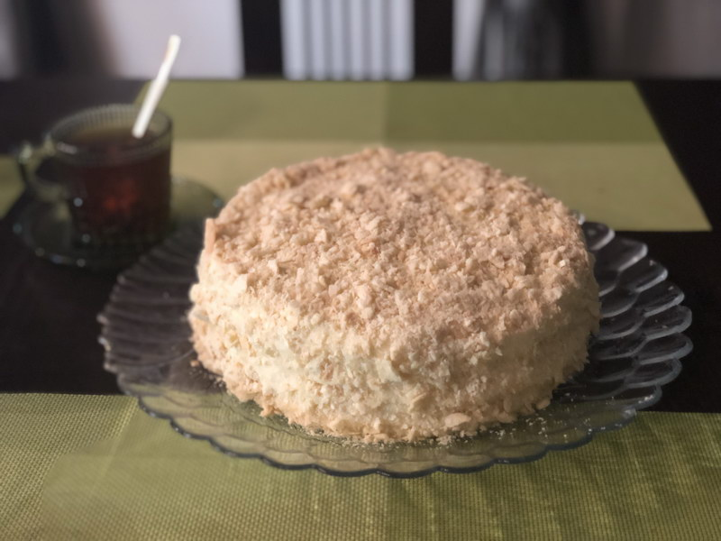 Торт «Наполеон» - моя особая любовь (классический вкус с чуть-чуть усовершенствованной текстурой)