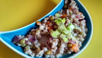 Рецепт «Перлотто с овощами» кулинарный шедевр из итальянской кухни