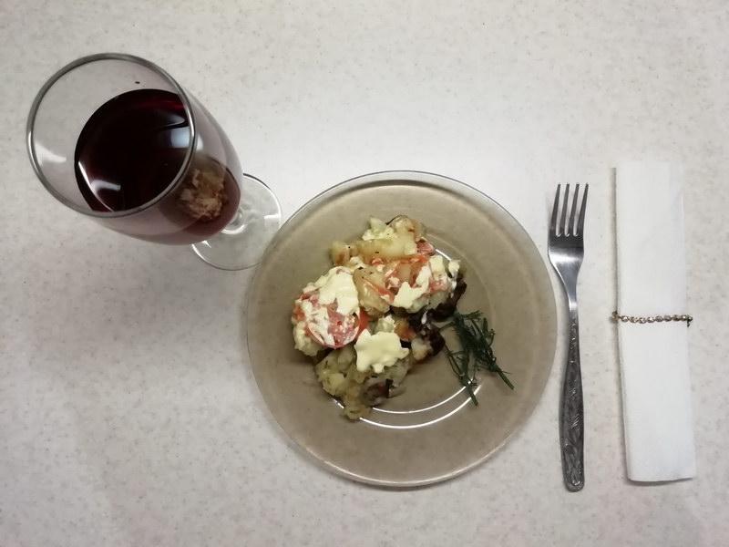 «Картофель по-французски» на сковороде