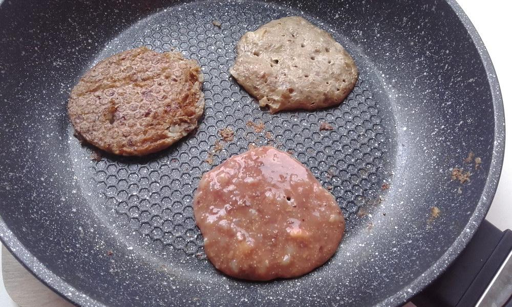 Диетические оладьи из гречки и куриной печени