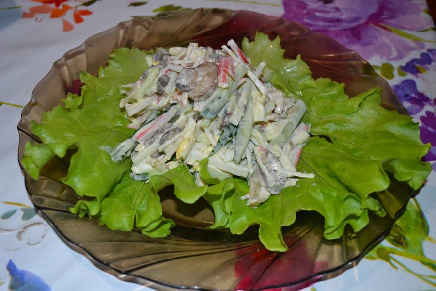 Свежесть вкуса и простота приготовления - салат «Аленка»