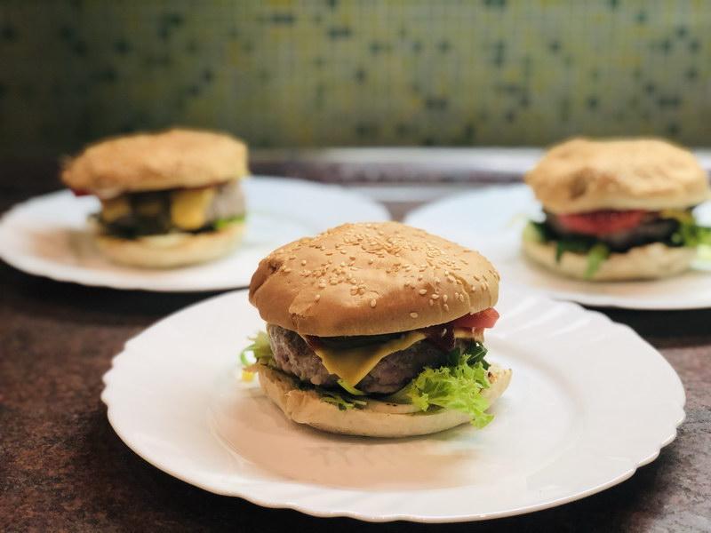 Как я делаю бургеры дома, пошаговый фото рецепт