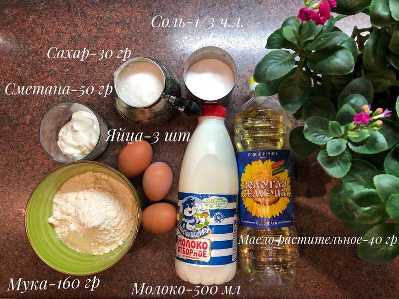 Мой рецепт идеальных блинчиков - очень вкусные, не сухие и мягкие
