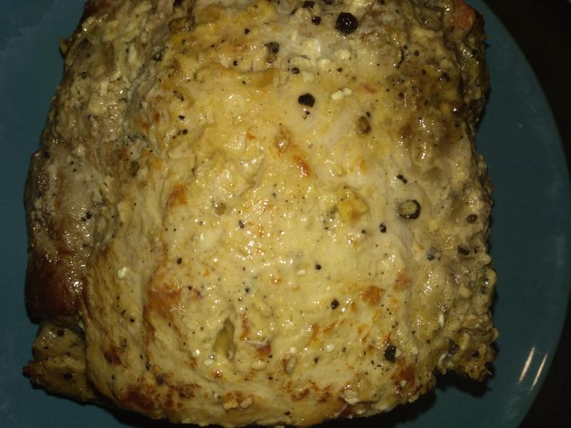 Буженина в духовке с горчицей