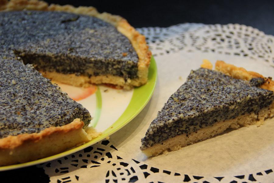 Маковый тарт