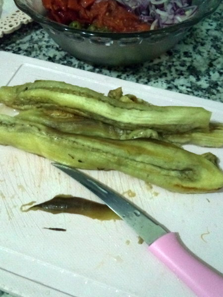 Салат из запеченных баклажанов - моё коронное блюдо