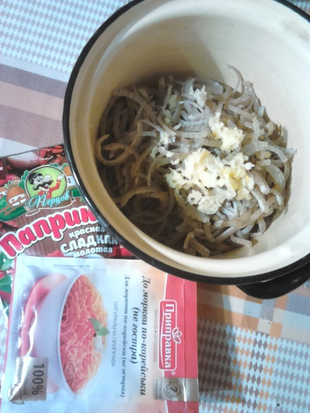 Пикантная закуска «Хрустящие ушки по-корейски»