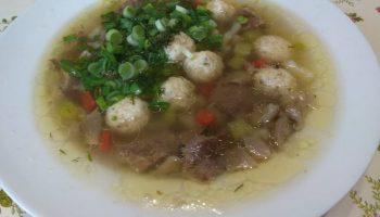 Грибной суп с сырными фрикадельками — необычное сочетание и вкус