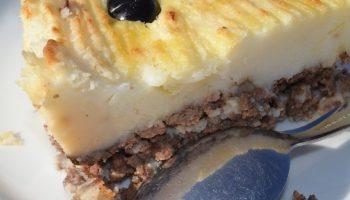 Мясной пирог по-португальски или запеканка «Праздничная»