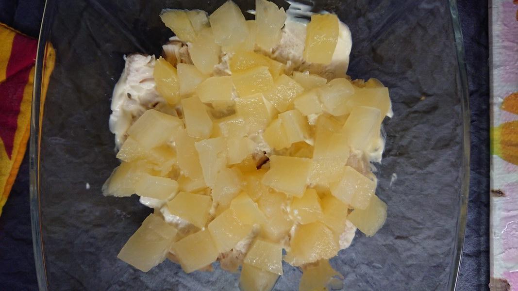 Салат «Ананасы с орехами» - рецепт моя случайная находка: вкусно и просто