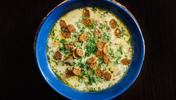Как приготовить сырный суп с мясом — пошаговый фото рецепт