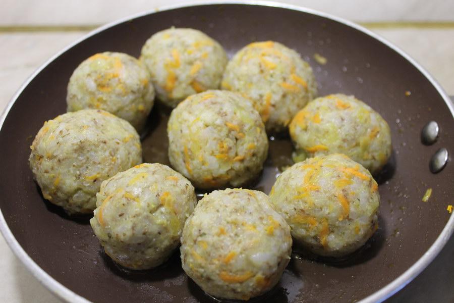 Постные тефтели из риса и чечевицы – по вкусу, как мясные