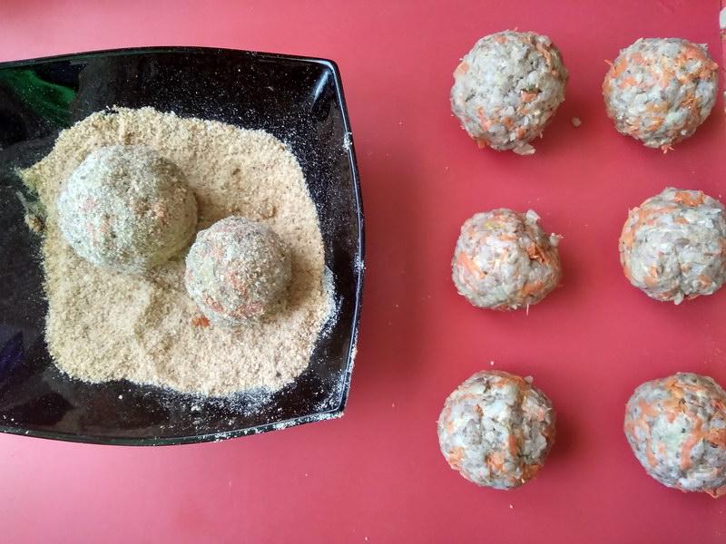 Гречневые тефтели (веган рецепт)