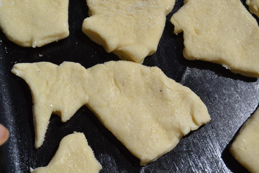 Творожное печенье. Старый рецепт, новые формы