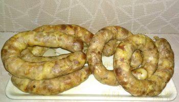 Рецепт приготовления настоящей домашней колбасы, мой семейный рецепт к празднику