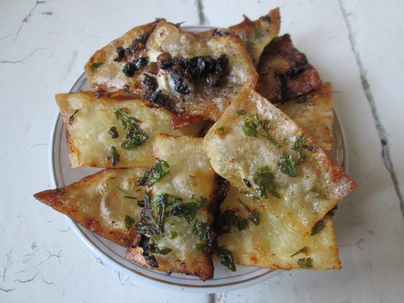 Как сделать из домашнего лаваша чипсы с разным вкусом