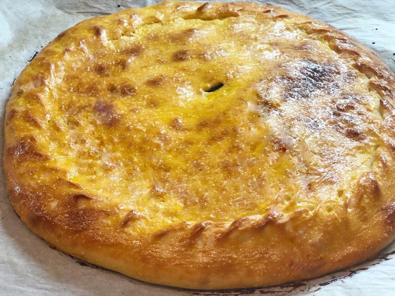 Сладкий пирог с щавелем