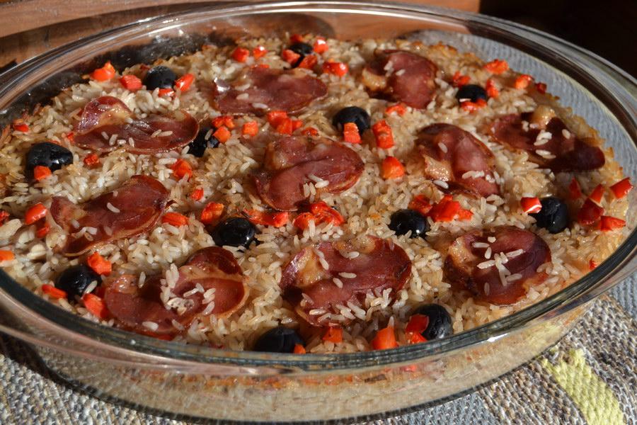 Мой особенный рецепт утки в сочетании с рассыпчатым рисом и копчёностями (мясо получается очень нежным)