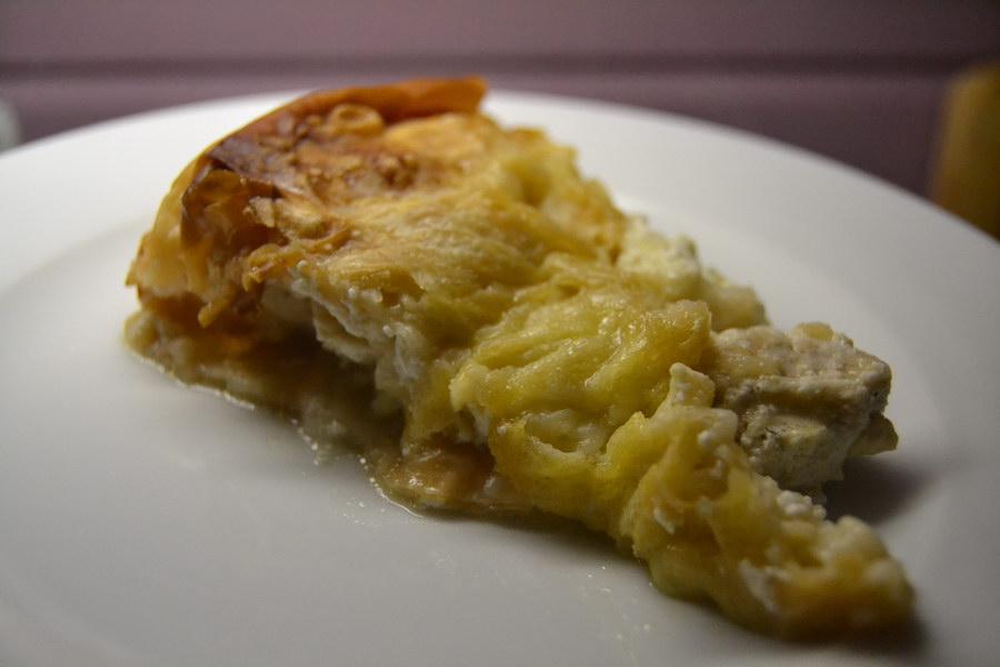 Нежнейший «Закусочный пирог» из теста фило с курицей - очень простой и быстрый, при этом восхитительно-вкусный