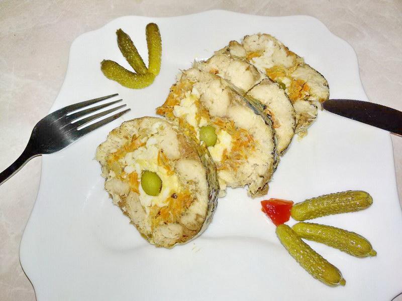 Обалденный «Рулет из скумбрии», новое блюдо к праздничному столу