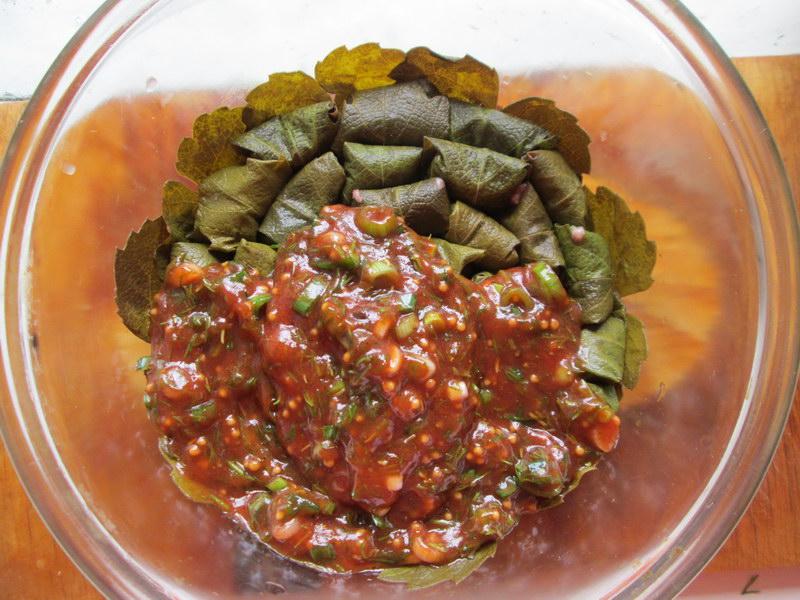 Мини-долма по рецепту моей армянской подруги