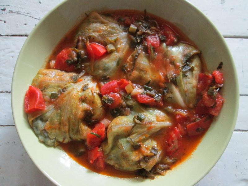 Сытные овощные голубцы - тот случай, когда мужа посадила на диету