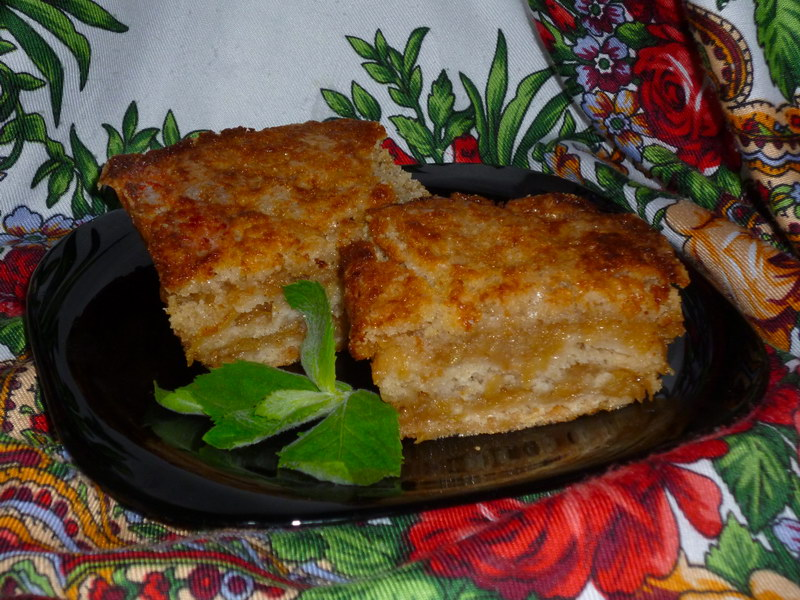 Волшебство в духовке «Варшавский яблочный пирог»