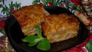 Волшебство в духовке «Варшавский яблочный пирог» — рецепт без замесов (из сухих ингредиентов)