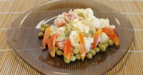 Салат «Цветы» (из цветной капусты)
