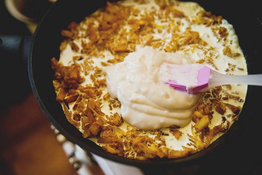 Рецепт курицы карри с бананом из книжки о шведской домашней кухне, внуки обожают